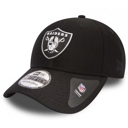 Klubowa czapka z daszkiem męska - New Era 39THIRTY NFL BLACK OAKLAND RAIDERS