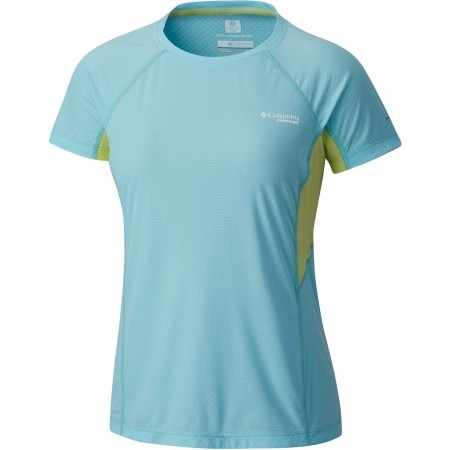 Women's running T-shirt - Columbia TITAN ULTRA SHIRT W - 1