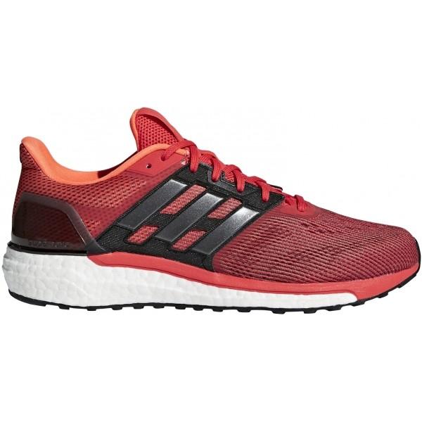 adidas SUPERNOVA M červená 11.5 - Pánska bežecká obuv