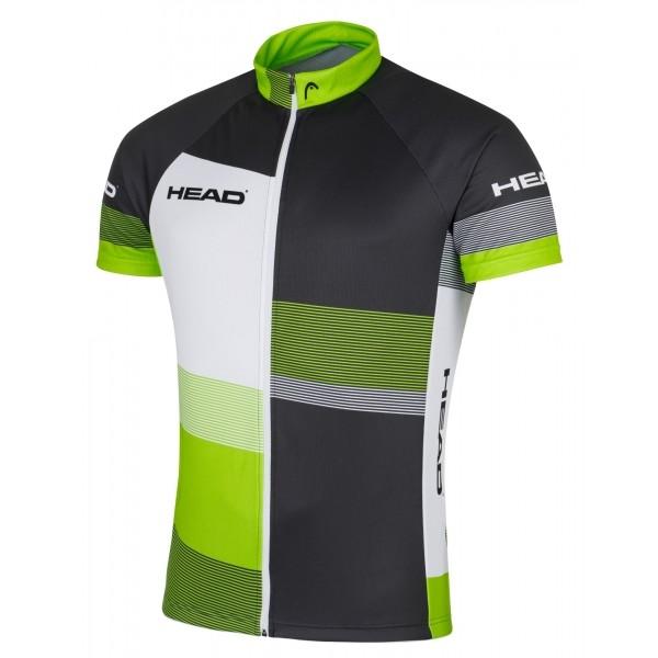 Head MEN JERSEY CLASSIC černá XL - Pánský cyklistický dres