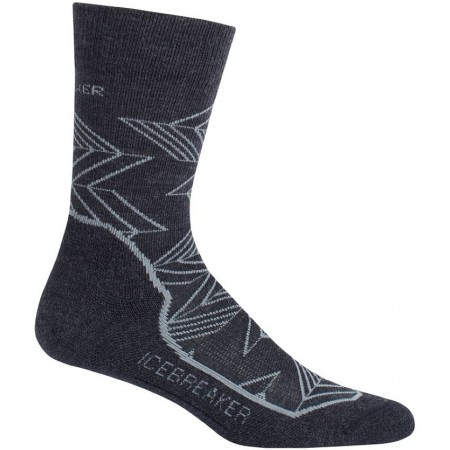 Pánské ponožky - Icebreaker HIKE CREW LC M