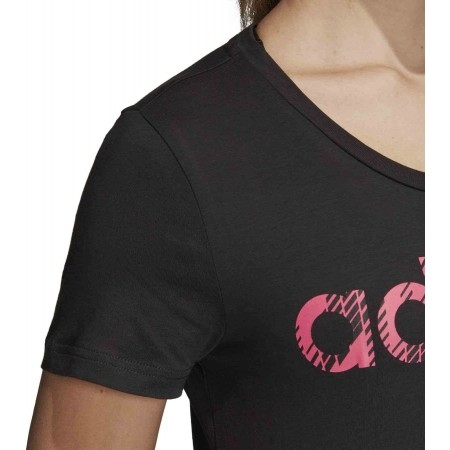 Women's T-shirt - adidas W COM MS T - 5
