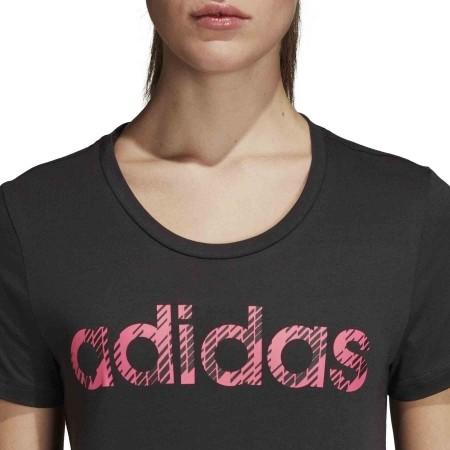 Women's T-shirt - adidas W COM MS T - 6
