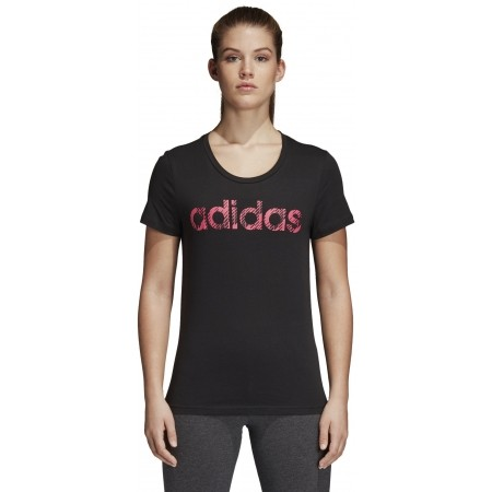 Women's T-shirt - adidas W COM MS T - 2