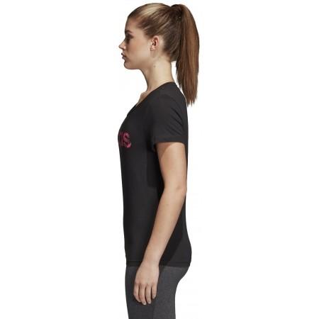 Women's T-shirt - adidas W COM MS T - 3