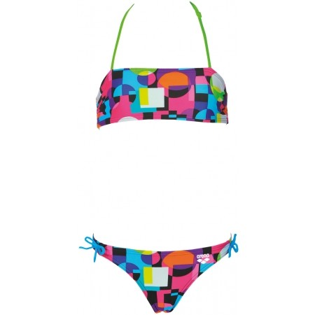 Mädchen Bikini - Arena MARBLE JR BANDEAU - 2