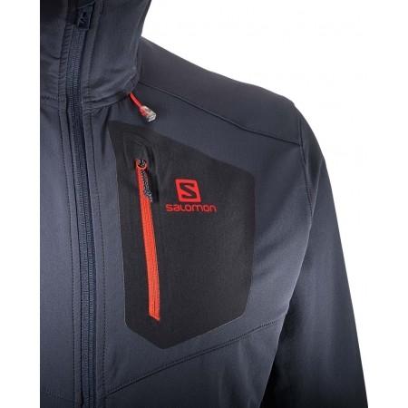 Pánska softshellová bunda - Salomon RANGER SOFTSHELL JKT M - 4 7d8a05180fe