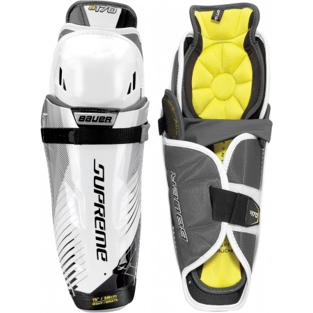 Bauer SUPREME S170 SHIN GUARD JR - Juniorské hokejové holene