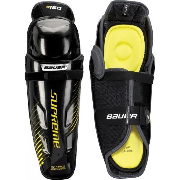 Bauer SUPREME S150 SHIN GUARD JR - Juniorské hokejové chrániče holení