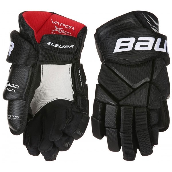 Bauer VAPOR X800 JR čierna 12 - Juniorské hokejové rukavice