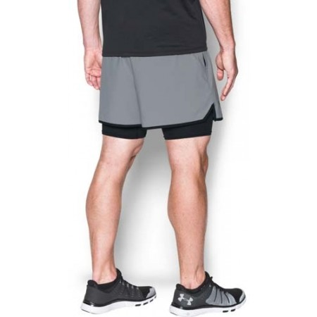 Trainingsshorts für Herren - Under Armour QUALIFIER 2-IN-1 SHORT - 5