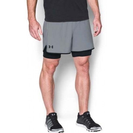 Trainingsshorts für Herren - Under Armour QUALIFIER 2-IN-1 SHORT - 4