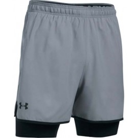 Under Armour QUALIFIER 2-IN-1 SHORT - Șort de antrenament bărbați