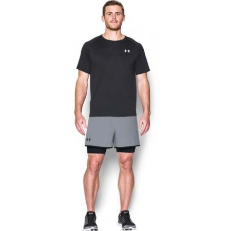 Trainingsshorts für Herren - Under Armour QUALIFIER 2-IN-1 SHORT - 3