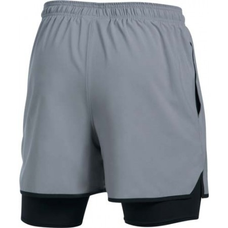 Trainingsshorts für Herren - Under Armour QUALIFIER 2-IN-1 SHORT - 2