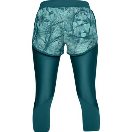 Spodenki do biegania 2 w 1 damskie - Under Armour ARMOUR FLY FAST PRNT SHAPRI - 2