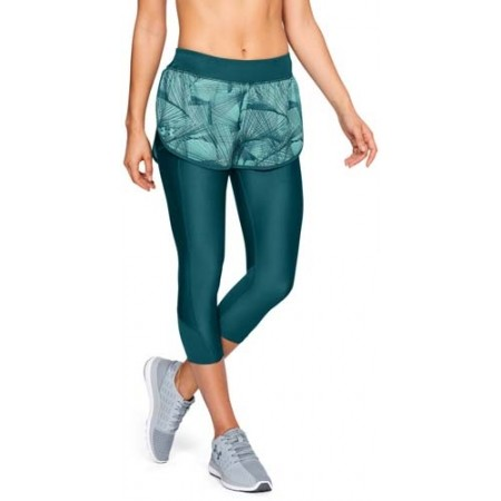 Damen Laufshorts 2 in 1 - Under Armour ARMOUR FLY FAST PRNT SHAPRI - 5