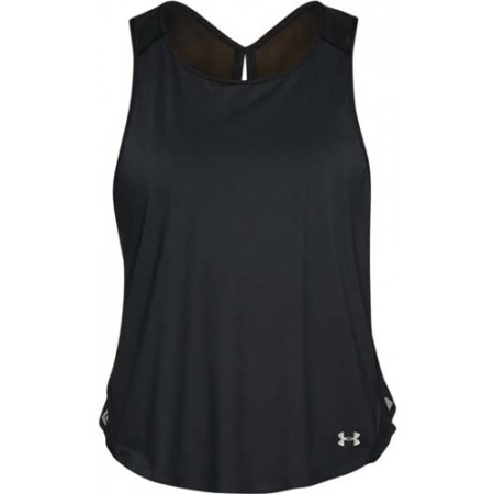 Koszulka damska - Under Armour VIVID KEY HOLE BACK TANK - 1