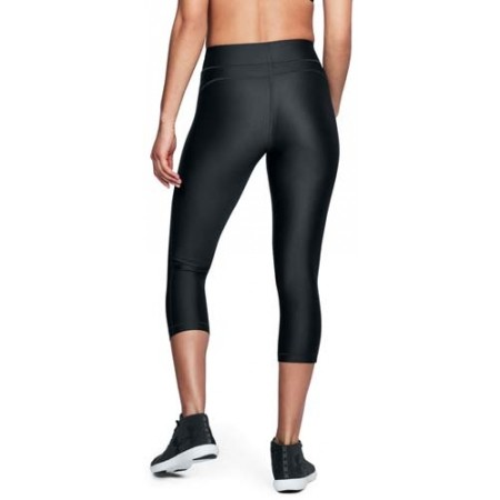 Legginsy kompresyjne 3/4 damskie - Under Armour HG PRINT ARMOUR CAPRI - 5