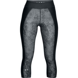 Under Armour HG PRINT ARMOUR CAPRI - Legginsy kompresyjne 3/4 damskie
