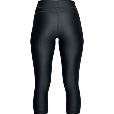 Legginsy kompresyjne 3/4 damskie - Under Armour HG PRINT ARMOUR CAPRI - 2