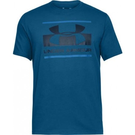 Koszulka męska - Under Armour BLOCKED SPORTSTYLE LOGO - 1