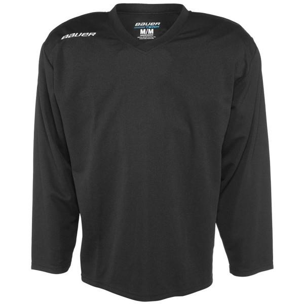 Bauer 200 JERSEY YTH černá L - Dětský hokejový tréninkový dres