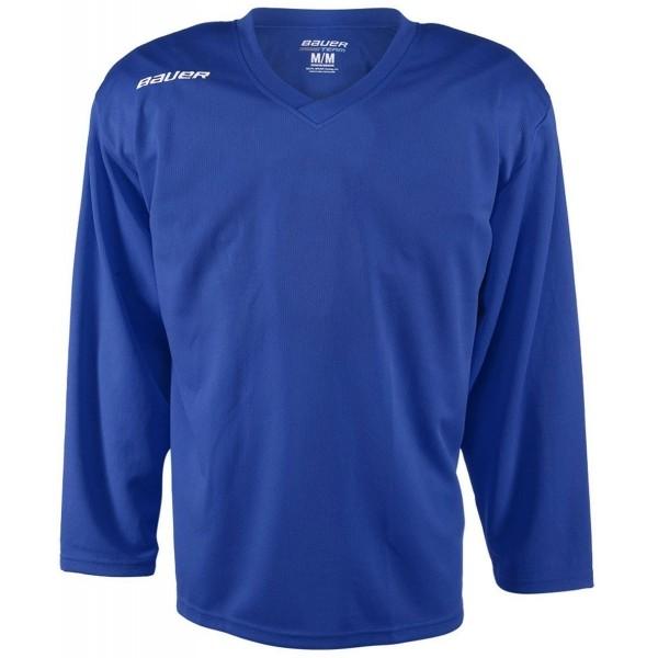 Bauer 200 JERSEY YTH modrá S - Dětský hokejový tréninkový dres