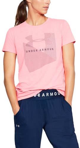 Under Armour SPORTSTYLE MESH LOGO CREW. Dámske tričko. Dámske tričko. Dámske  tričko. Dámske tričko. Dámske tričko. 1 997c727083a