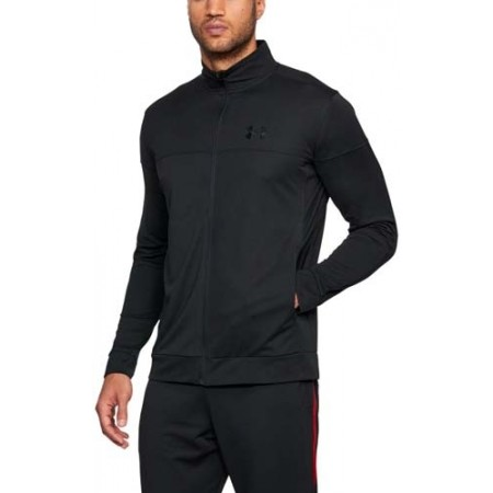 Pánska mikina - Under Armour SPORTSTYLE PIQUE JACKET - 4
