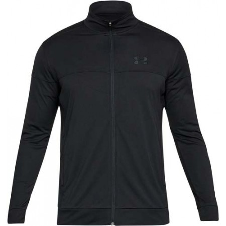 Pánska mikina - Under Armour SPORTSTYLE PIQUE JACKET - 1