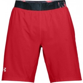 Under Armour LAUNCH SW LONG SHORT - Men's running 2in1 shorts