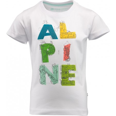 Tricou copii - ALPINE PRO HALLO - 1