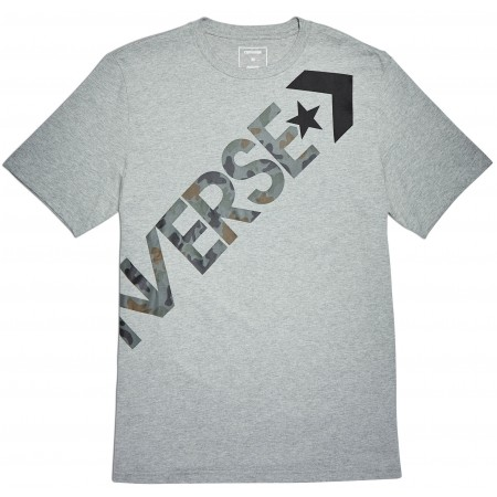 Koszulka męska - Converse CROSS BODY TEE - 2