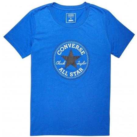 Koszulka damska - Converse CORE SOLID CHUCK PATCH CREW