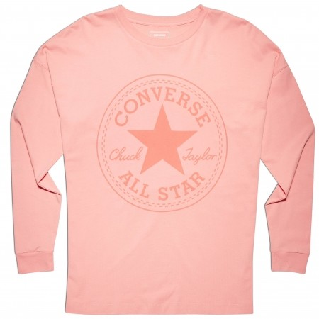Dámske tričko - Converse CORE CP LONG SLEEVE TEE