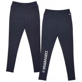 Converse CORE REFLECTIVE WORDMARK LEGGING - Pantaloni înguști damă