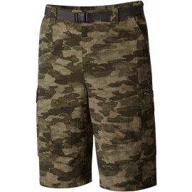 Columbia SILVER RIDGE PRINTED CARGO SHORT - Men's outdoor shorts