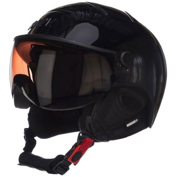 Kask ESSENTIAL PHOTOCHROMIC czarny (59 - 60) - Kask narciarski