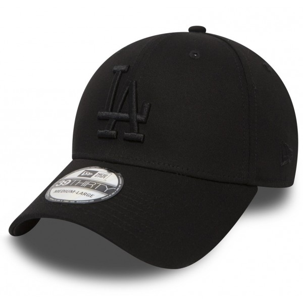 New Era 39THIRTY MLB LEAGUE ESSENTIAL LOS ANGELES DODGERS černá XS/S - Klubová kšiltovka