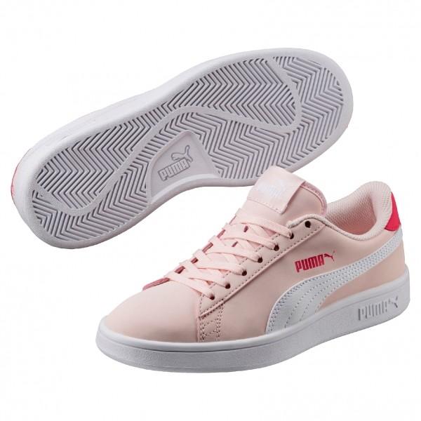 Puma SMASH V2 BUCK JR béžová 6 - Juniorská vycházková obuv