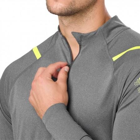 Tricou sport bărbați - Asics ICON LS 1/2 ZIP M - 6