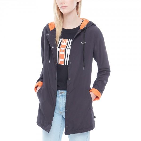 Vans THANKS COACH HOOD fekete M - Női kabát