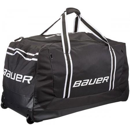 Hokejové tašky - Bauer 13564-RED 650 WHEEL BAG M RED - 1