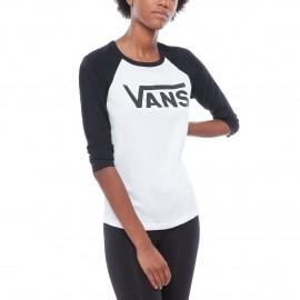 Vans FLYING RAGLAN - Women's T-shirt