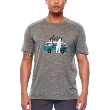 Tricou de bărbați - Icebreaker SPHERE SS CREWE VAN SURF LIFE - 3