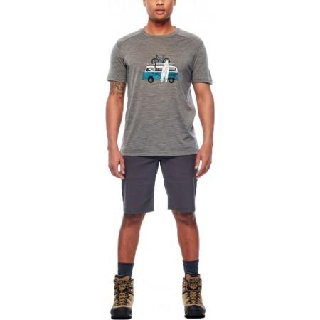 Tricou de bărbați - Icebreaker SPHERE SS CREWE VAN SURF LIFE - 5