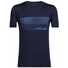 Icebreaker TECH LITE SS CREWE HARD RAIN - Men's T-shirt