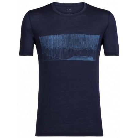 Tricou de bărbați - Icebreaker TECH LITE SS CREWE HARD RAIN - 1