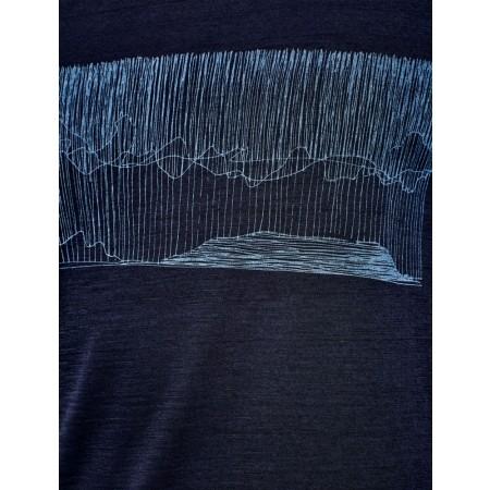 Koszulka męska - Icebreaker TECH LITE SS CREWE HARD RAIN - 8